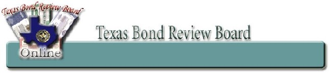 Texas Bond Review Board